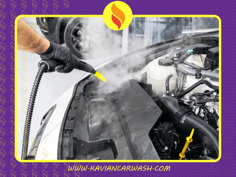 موتورشویی با بخار